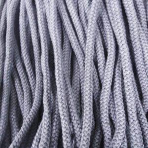 Шнур Арт.70 круглый 7 мм серый рул-100м (Беларусь)
