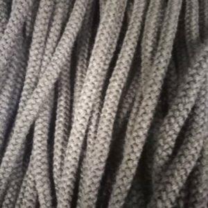 Шнур Арт.70 круглый 7 мм коричневый рул-100м (Беларусь)