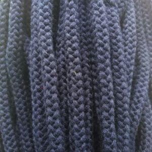 Шнур Арт.90 круглый 9 мм синий рул-100м (Беларусь)