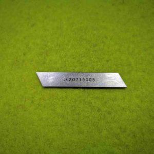 Нож нижний Jack 798-3200 20719005