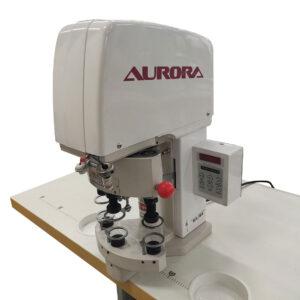 Пресс для установки фурнитуры, электрический, трехпозиционный Aurora X-3 (комплект)