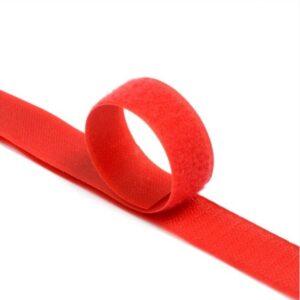Лента контактная пришив. 50 мм 25м, Комплект, 148-красный