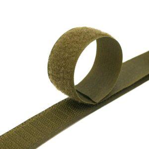 Лента контактная пришив. 25 мм 25м, Комплект, 327-хаки
