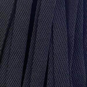 Шнур плоский 15 мм, рул-100м, черный (Беларусь)