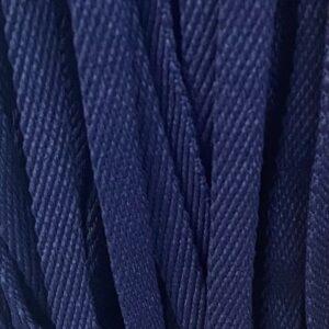 Шнур плоский 10 мм, рул-100м, синий №26