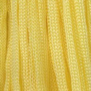 Шнур п/п 4 мм желтый (рул -100 м) (тянется)