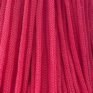 Шнур п/п 4 мм красный (рул -100 м)(тянется)