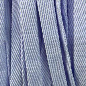 Шнур плоский 15 мм, рул-100м, №17 голубой лайт
