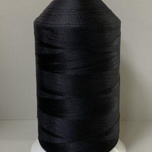 Нитки «EURON» N210/9 (630D/3) №15 1000м (2220) черный
