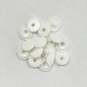 Кнопка пластиковая 10мм белый (уп.1440шт)