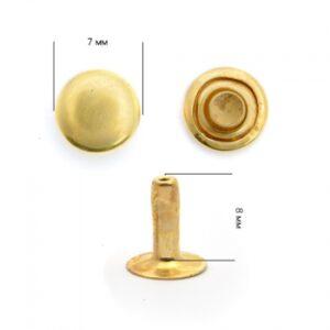 Хольнитен №7*7 золото (уп.2000шт)
