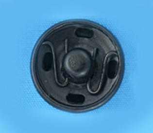 Кнопка потайная 21мм (уп. 12шт.) оксид