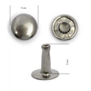 Хольнитен №9*9 черный никель (уп.2000шт)