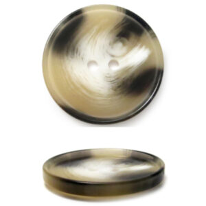 Пуговица 2-П д.15мм бежевая (100 шт/уп)