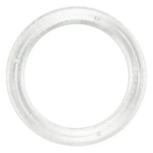 Кольцо пластик прозрачный, 10мм (250 шт/упак) ГТ1000