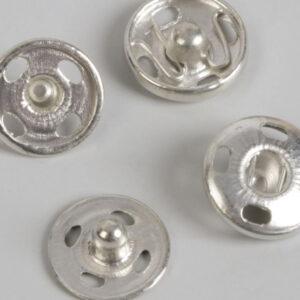 Кнопка пришивная 10мм (уп. 36шт.) никель