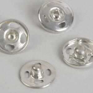 Кнопка пришивная 12мм (уп. 36шт.) никель
