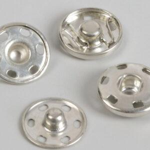 Кнопка пришивная 16мм (уп. 20шт.) никель