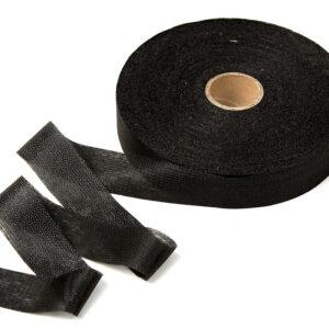 Нитепрошивная кромка 30 мм, черная 1 рул-100 м