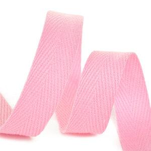 Тесьма киперная 1010 F134 светло-розовый, х/б (кат.50м)