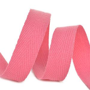 Тесьма киперная 1010 F137 розовый, х/б (кат.50м)