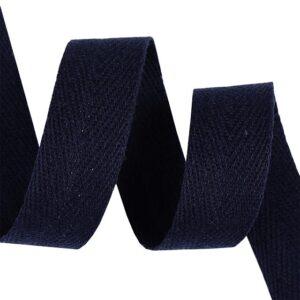 Тесьма киперная 1013 030-темно синий, х/б (кат.50м)