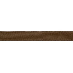Тесьма окантовочная 22мм коричневая (1рул-100м)