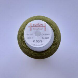 Нитки «EURON» К 50/2 №240 5000м (2208)