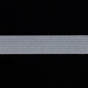Тесьма в плечо белая 8 мм (400м)