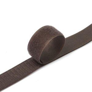 Лента контактная пришив. 25 мм 25м, Комплект, 1498-коричневая