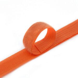 Лента контактная пришив. 25 мм 25м, Комплект, 1502-оранжевый