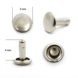 Хольнитен №9*9 никель двухсторонний(уп.2000шт)