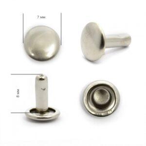 Хольнитен №7*7 никель двухсторонний(уп.2000шт)
