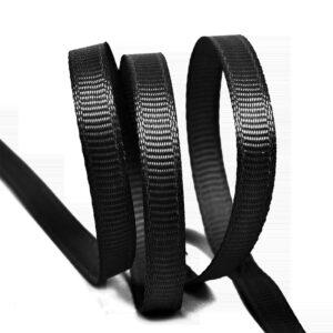 Лента репсовая 6мм (27,42м/рул) черный