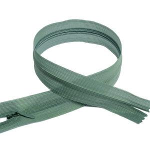 Молния потайная №3 50см F325 серо-зеленый